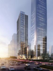 广州金融城起步区AT090908地块塔楼B栋