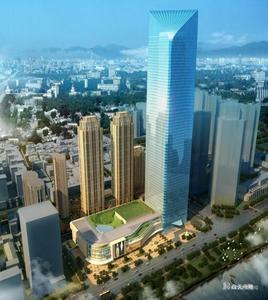 武汉长江航运中心项目1#楼