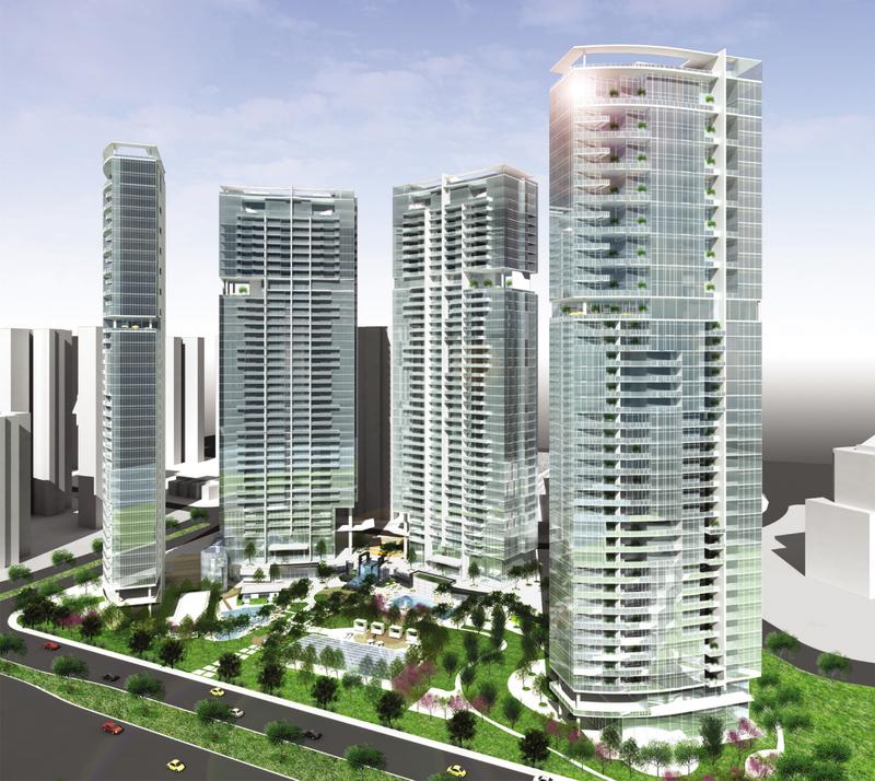 广州珠江新城N5-1地块项目(侨鑫汇悦台)