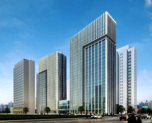 上海嘉定新城D07商业办公楼