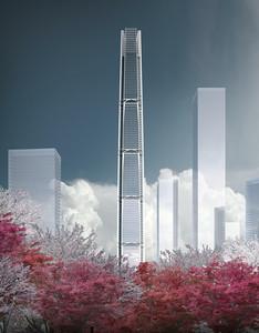 绿地南京浦口超高层项目